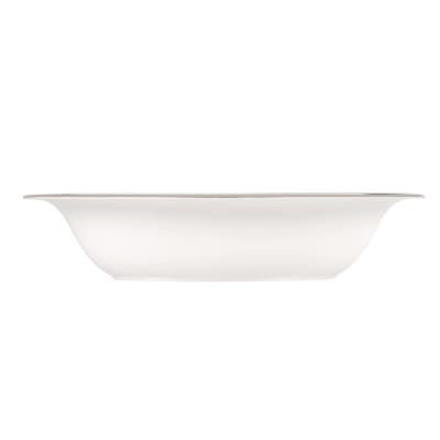 """Vera Wang for Wedgwood """"Lace"""" Oval Open Vegetable Bowl"""