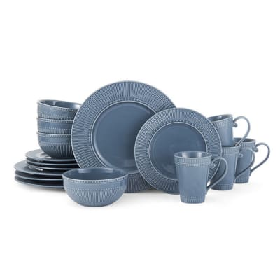 "Mikasa ""Italian Countryside"" Blue 16-pc. Service for 4 Dinnerware Set"
