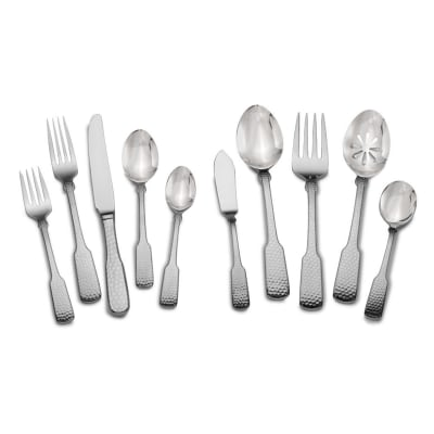 "Towle ""Hammersmith"" 45-pc. Service for 8 18/10 Stainless Steel Flatware Set"