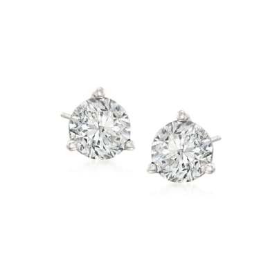 .50 ct. t.w. Diamond Martini Stud Earrings in Platinum