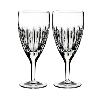 "Waterford Crystal ""Ardan"" Set of Two Mara Iced Beverage Glasses"
