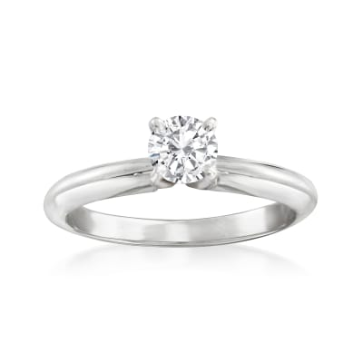 .51 Carat Certified Diamond Ring in 14kt White Gold