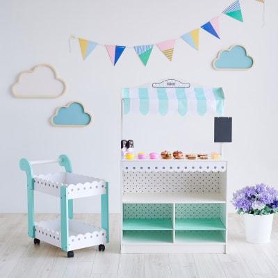 "Child's ""My Dream Bakery Shop"" Dessert Stand"