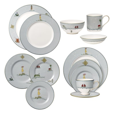 "Kit Kemp for Wedgwood ""Sailor's Farewell"" Dinnerware"