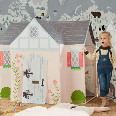 Child's Dream House Play Tent