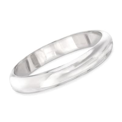 Slip-On Bangle Bracelet in Sterling Silver