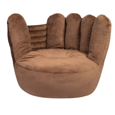 Children's Plush Baseball Glove Chair