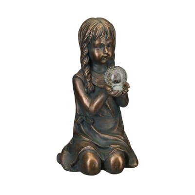 """Regal """"Solar Girl"""" Outdoor Garden Statue"""
