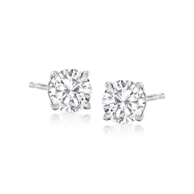 .75 ct. t.w. Diamond Stud Earrings in Platinum