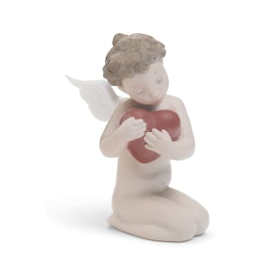 "Nao ""Forever in My Heart"" Porcelain Figurine"