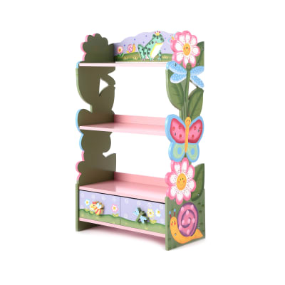 Child's Magic Garden Wooden Bookcase