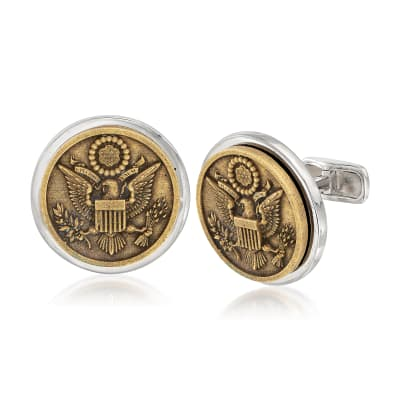 Men's Great Seal of the United States Coin Cuff Links