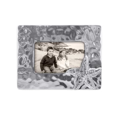"Mariposa ""Shimmer"" Starfish 4x6 Frame"