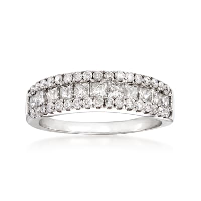 1.25 ct. t.w. Diamond Ring in 14kt White Gold
