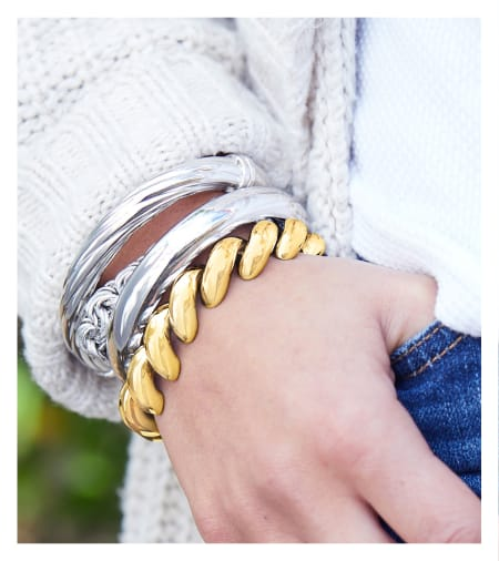 How To Stack Bangles