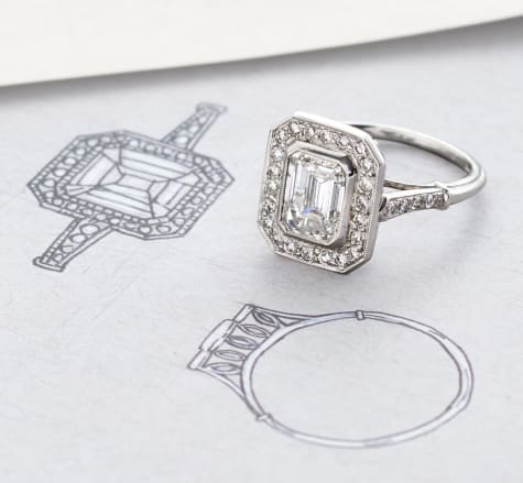 Fabulous Creations Image of ring that matches illustration of the ring.