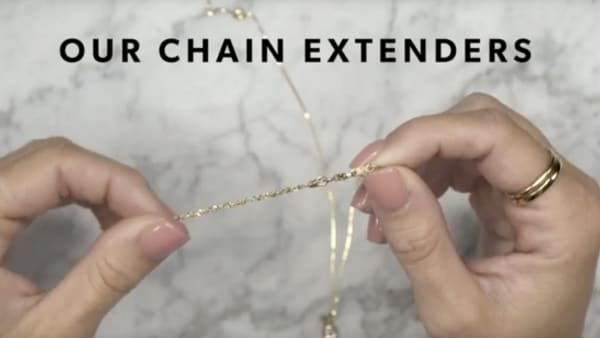 Chain extender YouTube video. Model showing how to use extender.