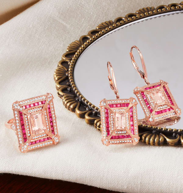 Because she's one of a kind. Image of three personalized pendant necklaces.