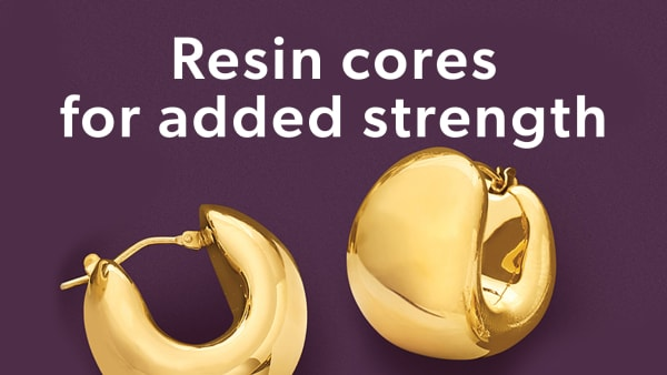 Resin Cores For Added Strength