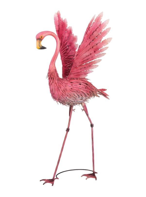 Outdoor & Garden. All Weather Goods Image Featuring Pink Flamingo