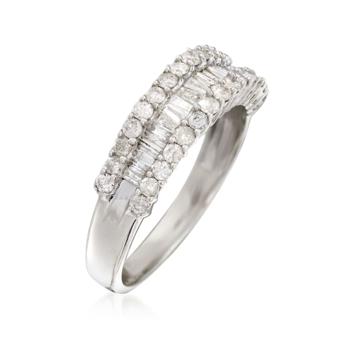 1.05 ct. t.w. Diamond Band Ring in Sterling Silver
