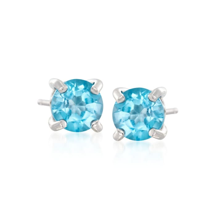 7.00 ct. t.w. Multi-Stone Jewelry Set: Seven Pairs of  Stud Earrings in Sterling Silver