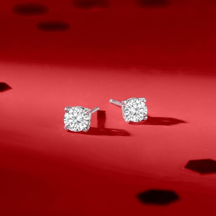.50 ct. t.w. Diamond Stud Earrings in Platinum
