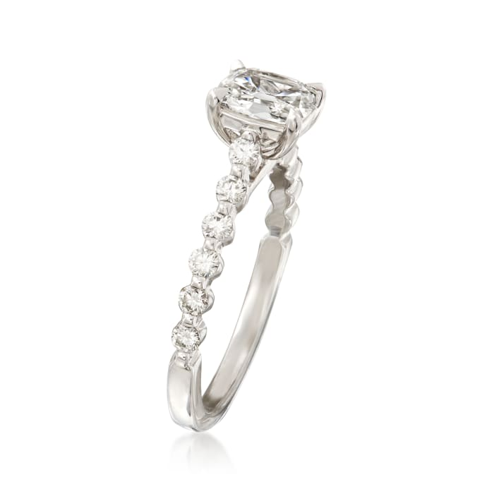 Henri Daussi 1.04 ct. t.w. Diamond Engagement Ring in 18kt White Gold