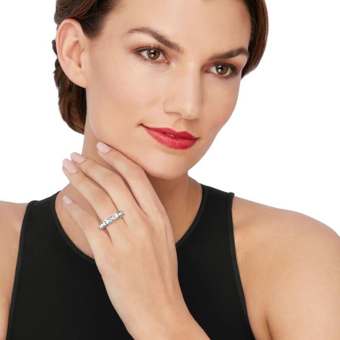 1.00 ct. t.w. Diamond Wedding Ring in 14kt White Gold