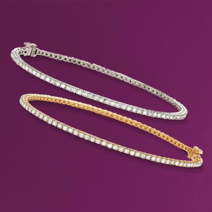 2.00 ct. t.w. Diamond Tennis Bracelet in 14kt Yellow Gold