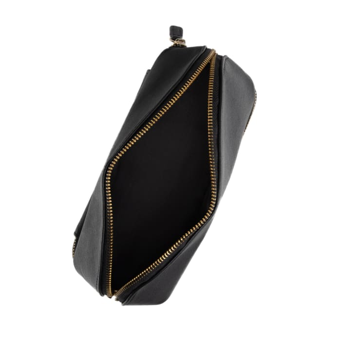 "Brouk & Co.'s ""Abby"" Black Faux Leather Travel Organizer"