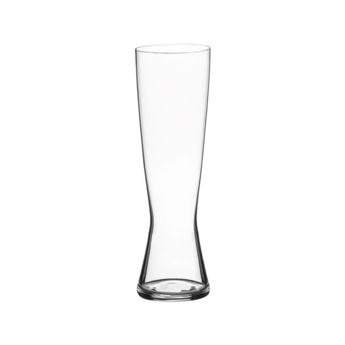 Set of 4 Tall Pilsner Beer Glasses