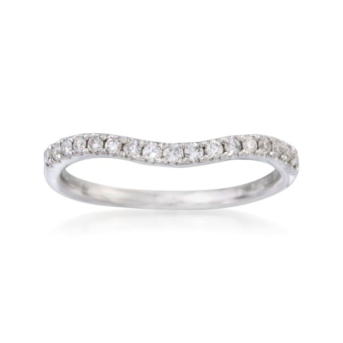 .20 ct. t.w. Diamond Wedding Ring in 14kt White Gold