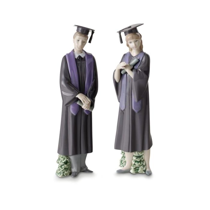 "Nao ""Graduate Celebration"" Porcelain Figurine"