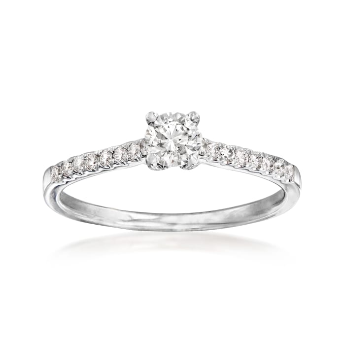 .51 ct. t.w. Diamond Engagement Ring in 14kt White Gold