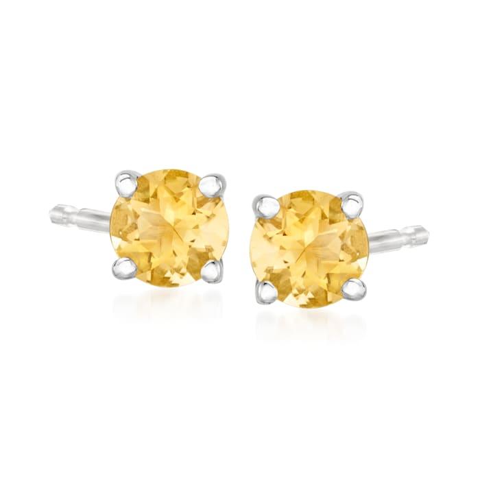 9.80 T. t.w. Multi-Gemstone Jewelry Set: Seven Pairs of Stud Earrings in Sterling Silver