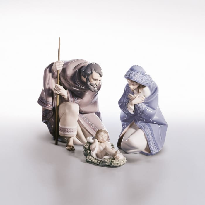 "Lladro ""Nativity"" Porcelain Collection"