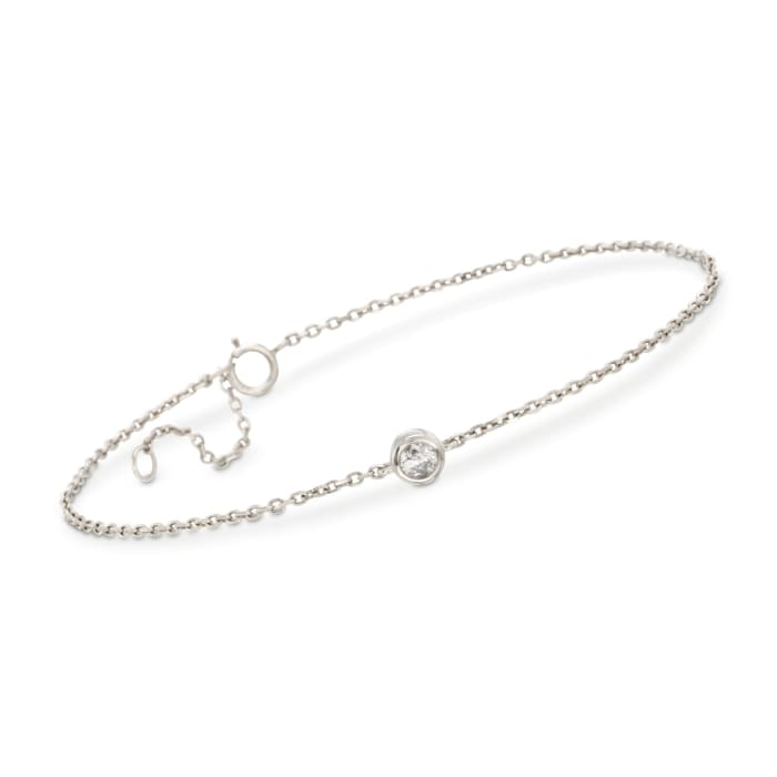 .20 Carat Diamond Bracelet in 14kt White Gold