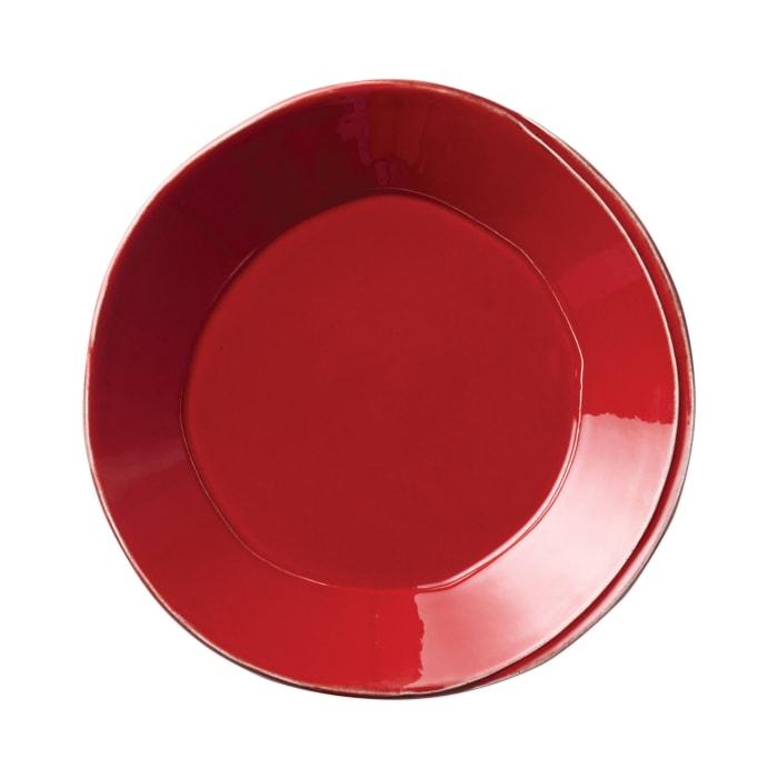 "Vietri ""Lastra"" Red Dinnerware from Italy"