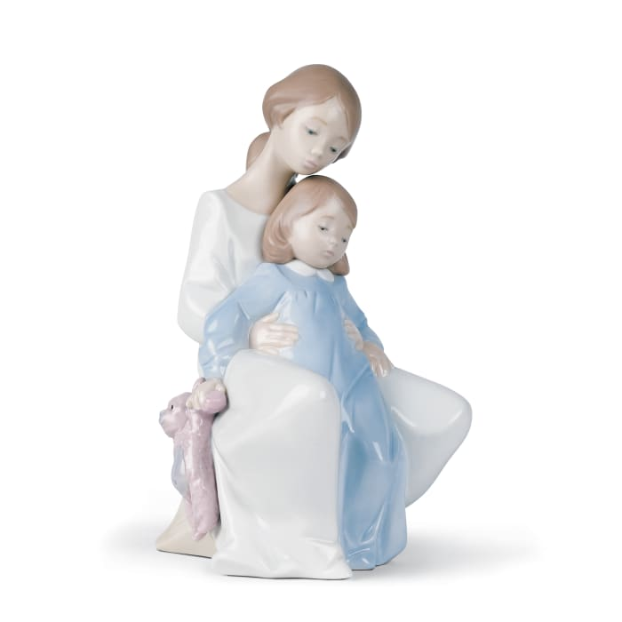 """Nao """"A Moment with Mommy"""" Porcelain Figurine"""