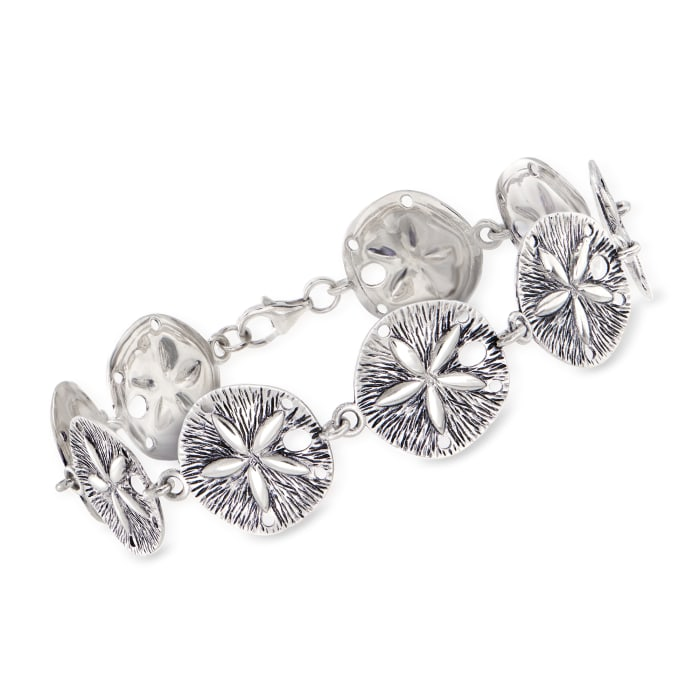 Sterling Silver Sand Dollar Bracelet