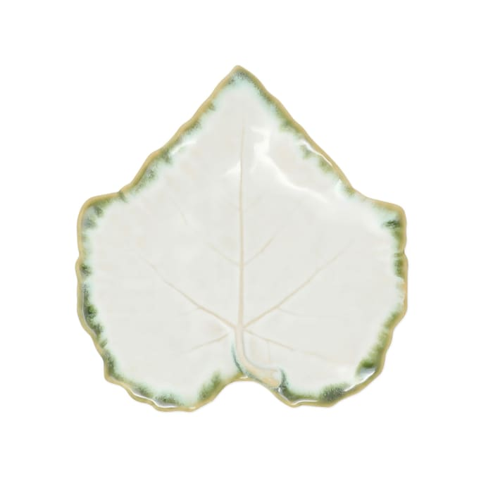 "Vietri ""Foglia"" White Dinnerware from Italy"