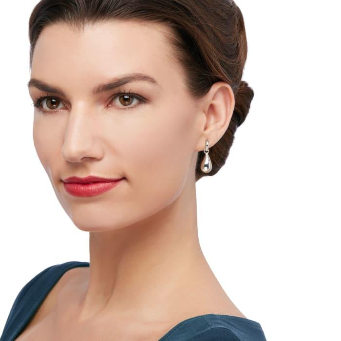 Zina Sterling Silver Teardrop Earrings