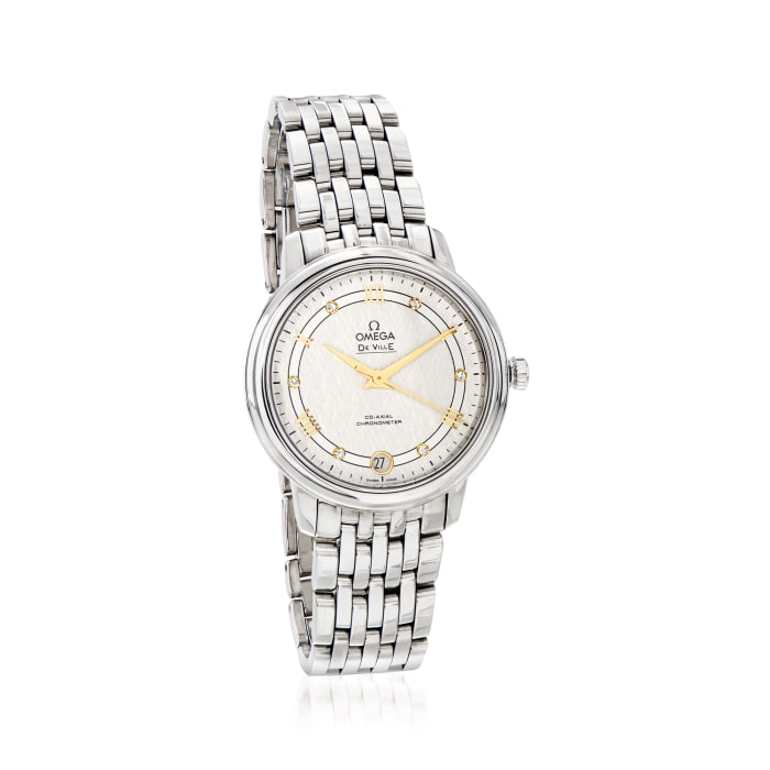 Omega De Ville Prestige Women's 33mm Automatic Stainless Steel Watch