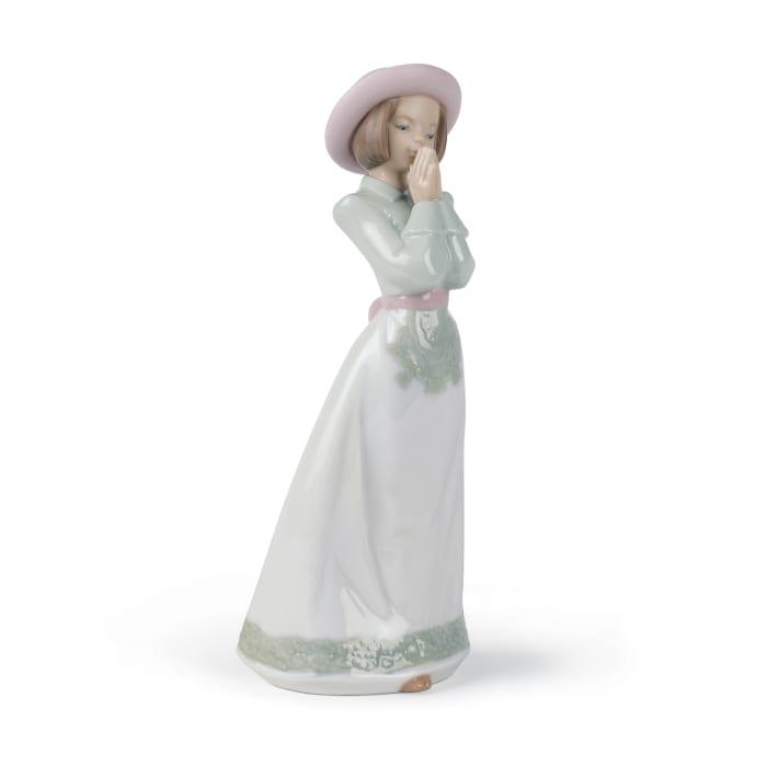 "Nao ""Please Please"" Porcelain Figurine"