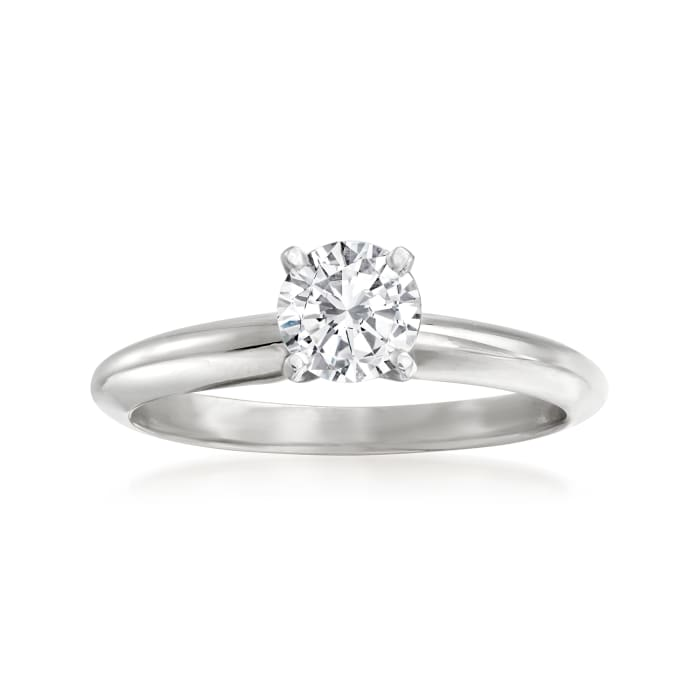 .52 Carat Diamond Solitaire Ring in 14kt White Gold