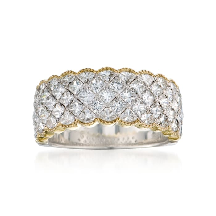 2.79 ct. t.w. Diamond Ring in 18kt Two-Tone Gold