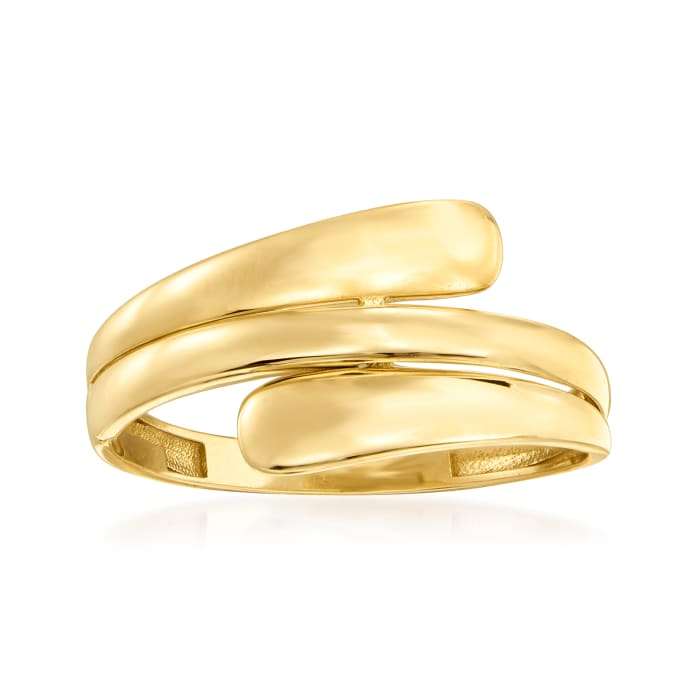 14kt Yellow Gold Wrap Ring