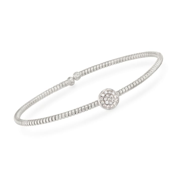 .15 ct. t.w. Diamond Circle Bracelet in 18kt White Gold