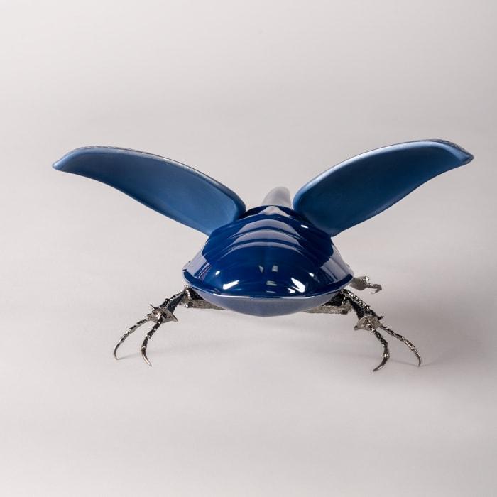 """Lladro """"Hercules Beetle"""" Porcelain Figurine"""